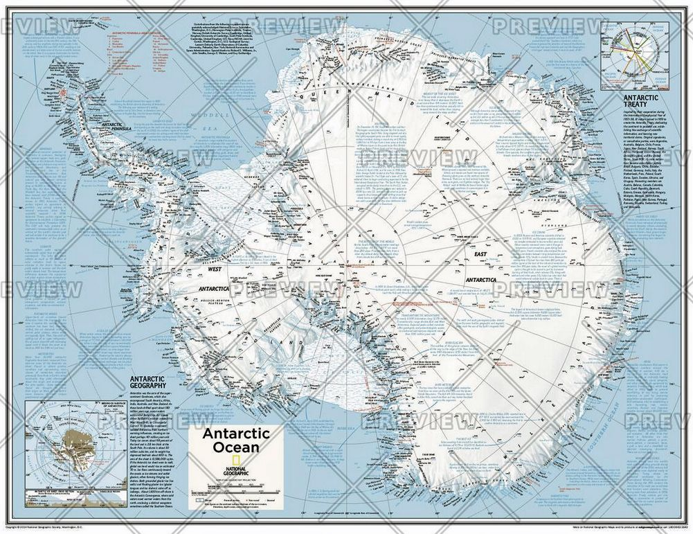 Political Map Of The World 2015.Antarctica Political Atlas Of The World 10th Edition 2015 By National Geographic