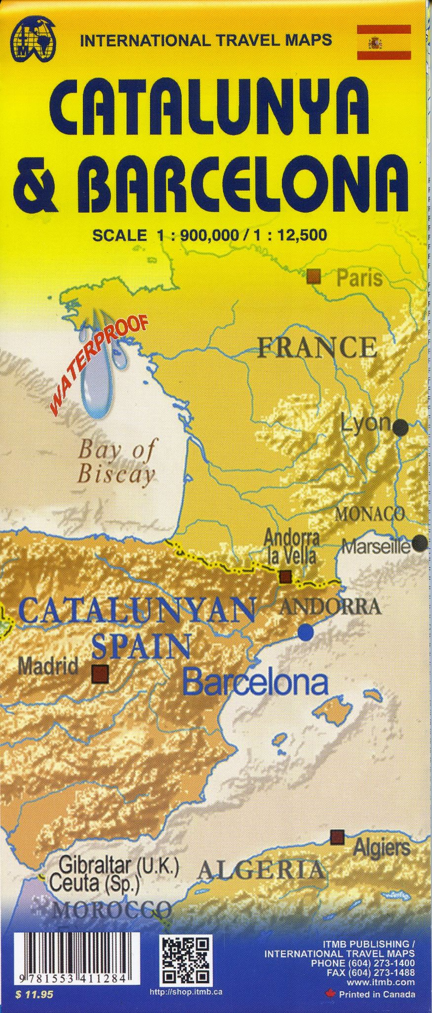 Spain ITM City map