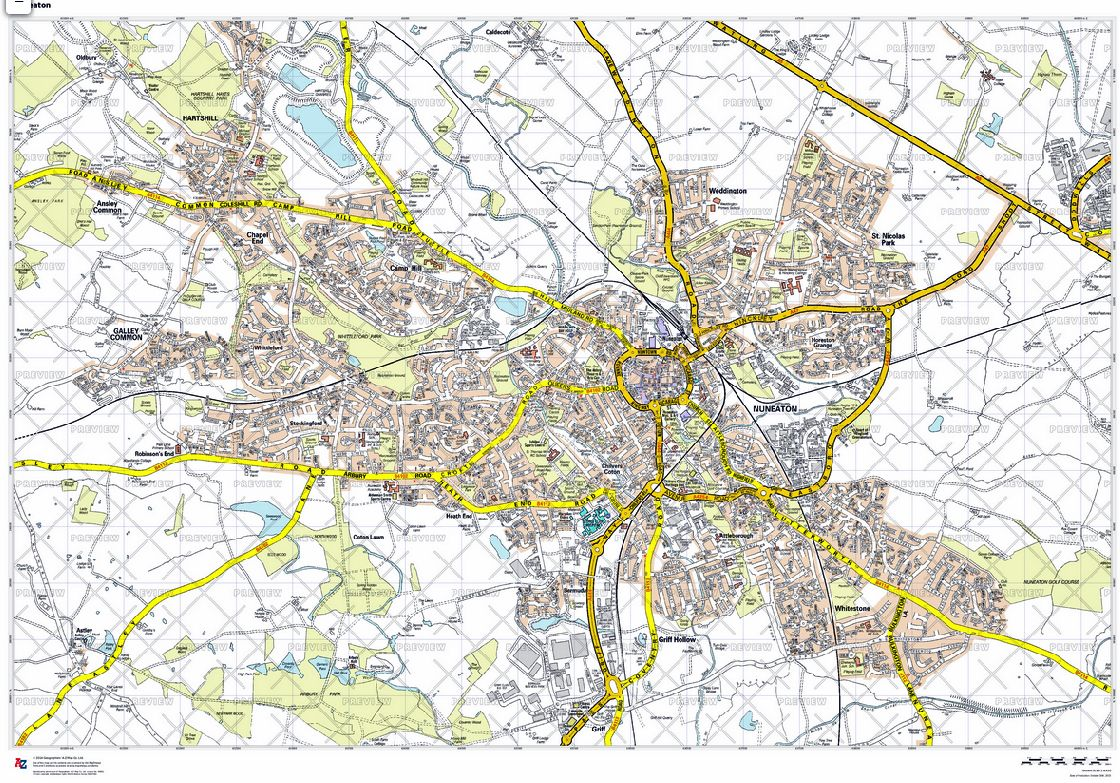 Your Own A Z Street Map GB