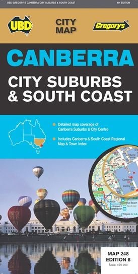 canberra city and suburbs map ubd