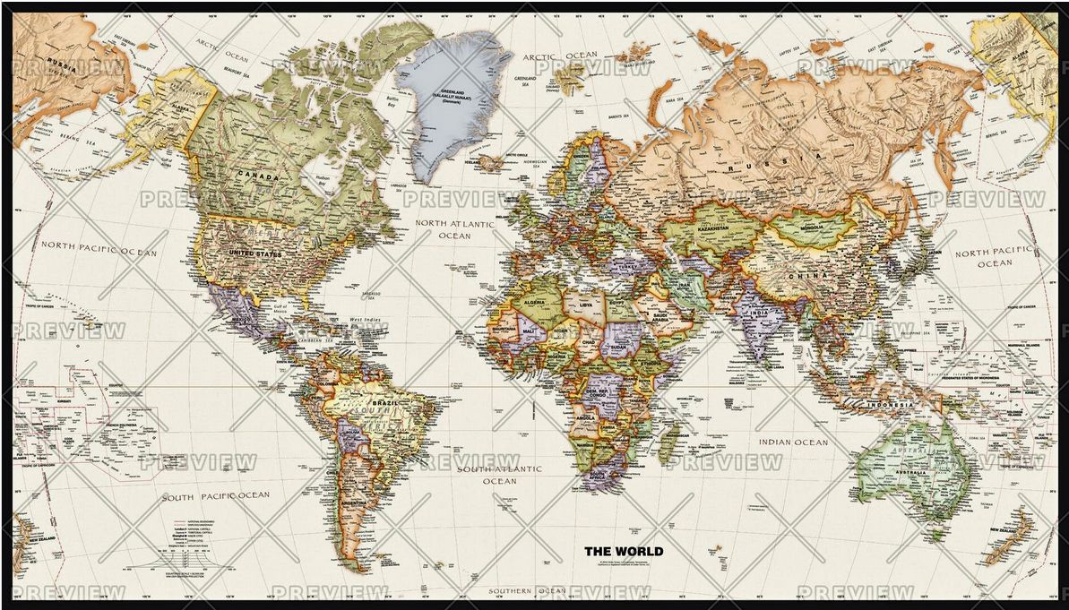 Globe Map Pictures.Legacy World Wall Map By Globe Turner