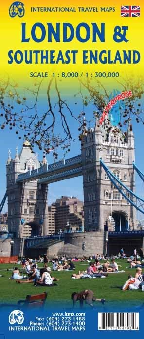 London City & South East England Travel Map