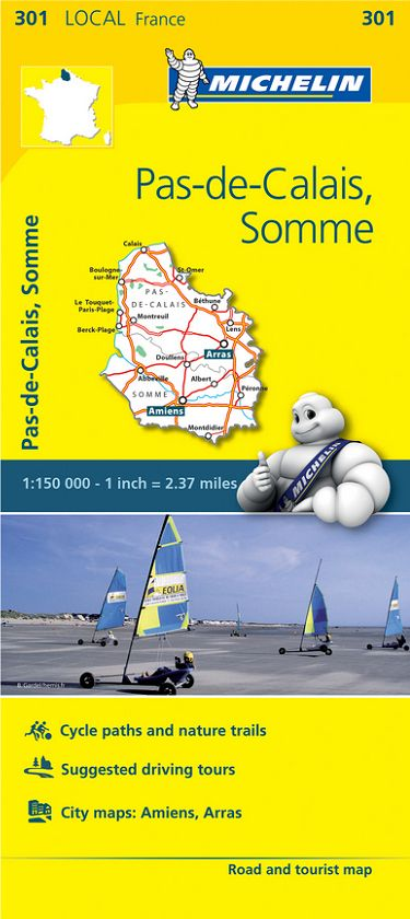 Michelin France Local Maps 1:150,000