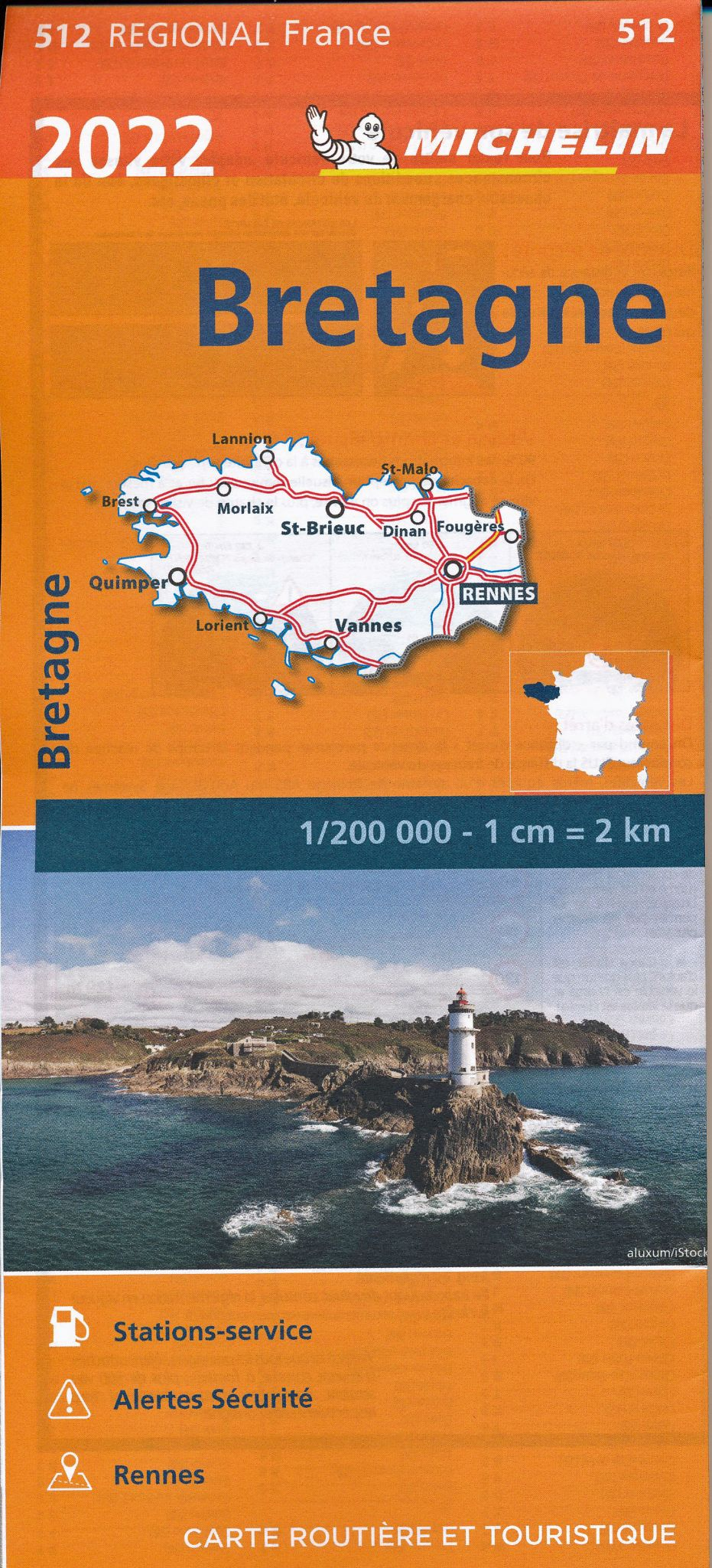Michelin Regional Driving Maps 1:200,000