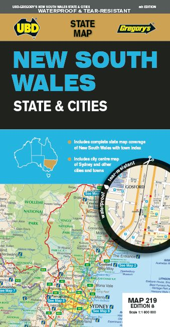 New South Wales State & Cities - UBD
