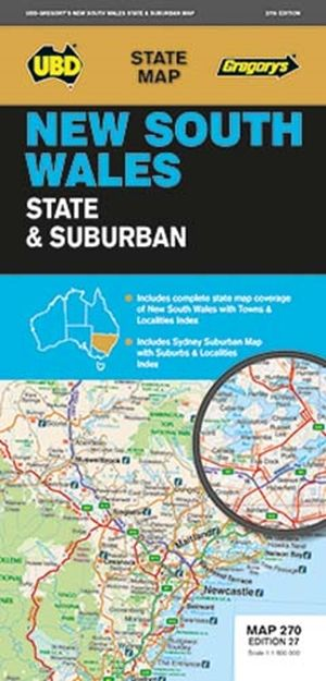 New South Wales State & Suburbs - UBD