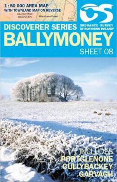Ordnance Survey Northern Ireland 1:50,000 - Map 08 - Ballymoney