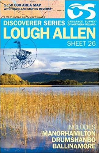Ordnance Survey Northern Ireland 1:50,000 - Map 26 - Lough Allen