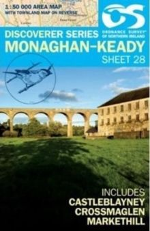 Ordnance Survey Northern Ireland 1:50,000 - Map 28 - Monaghan-Keady (Castleblayney)