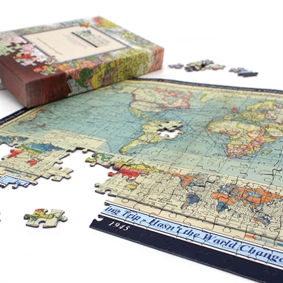 Personalised World Jigsaw Puzzle