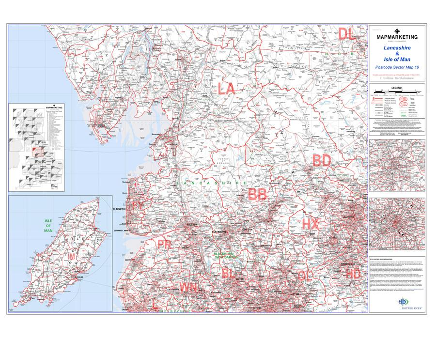 Sector Map 19 Lancashire and The Isle of Man