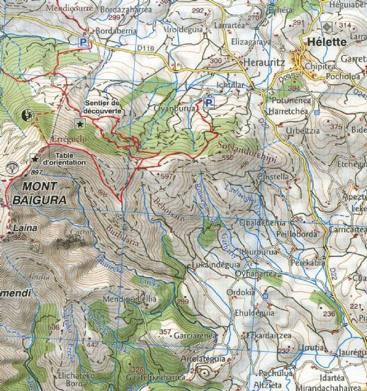 Rando Editions 150000 Walking Map Of the Pyrenees Map 11