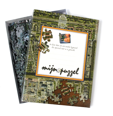 The Netherlands Personalised Jigsaw – Aerial Photography